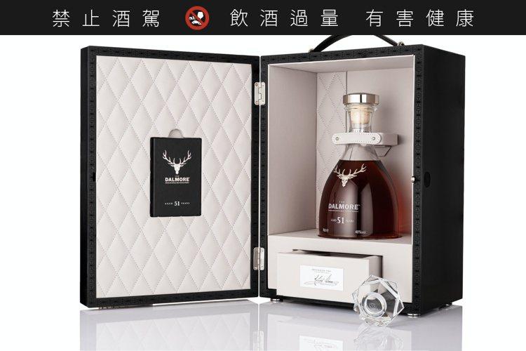 大摩51年,全球限量51瓶,建議售價約合台幣220萬元。圖/尚格酒業提供。提醒您...
