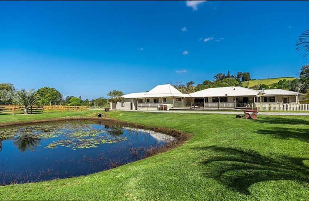 馬克華柏格在澳洲隔離所住的豪華度假別墅有優美風景。圖/摘自Byron Bay L...