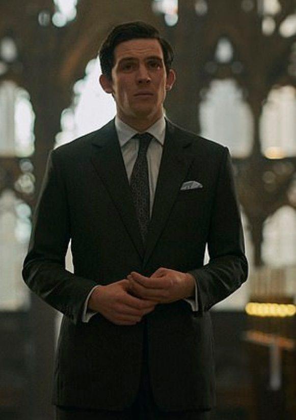 喬許歐康納在「王冠」扮演查爾斯王子。圖/摘自imdb