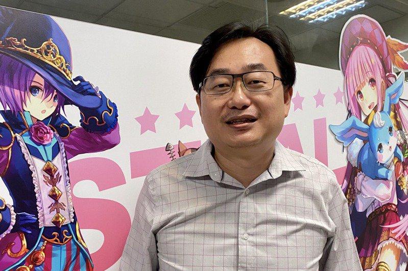 傳奇總經理周俊男。 記者康陳剛/攝影