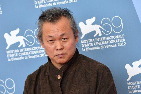 金基德2012年以《聖殤》再獲威尼斯金獅獎。 圖/新華社資料照片