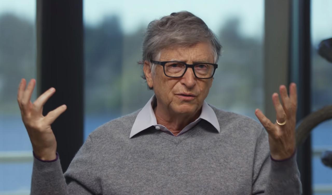 微軟創辦人比爾蓋茲(Bill Gates)與妻子 梅琳達蓋茲(Melinda G...