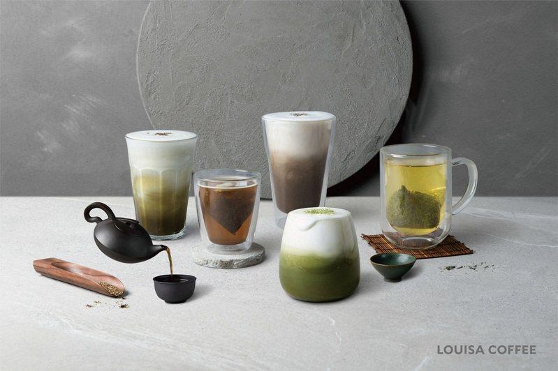 路易莎兩大飲品系列皆標榜嚴選著名茶廠「堀田勝太郎商店」的茶葉、由榮獲日本食品界多項大獎的茶匠森田治秀監製,強調頂級品質。圖/路易莎提供