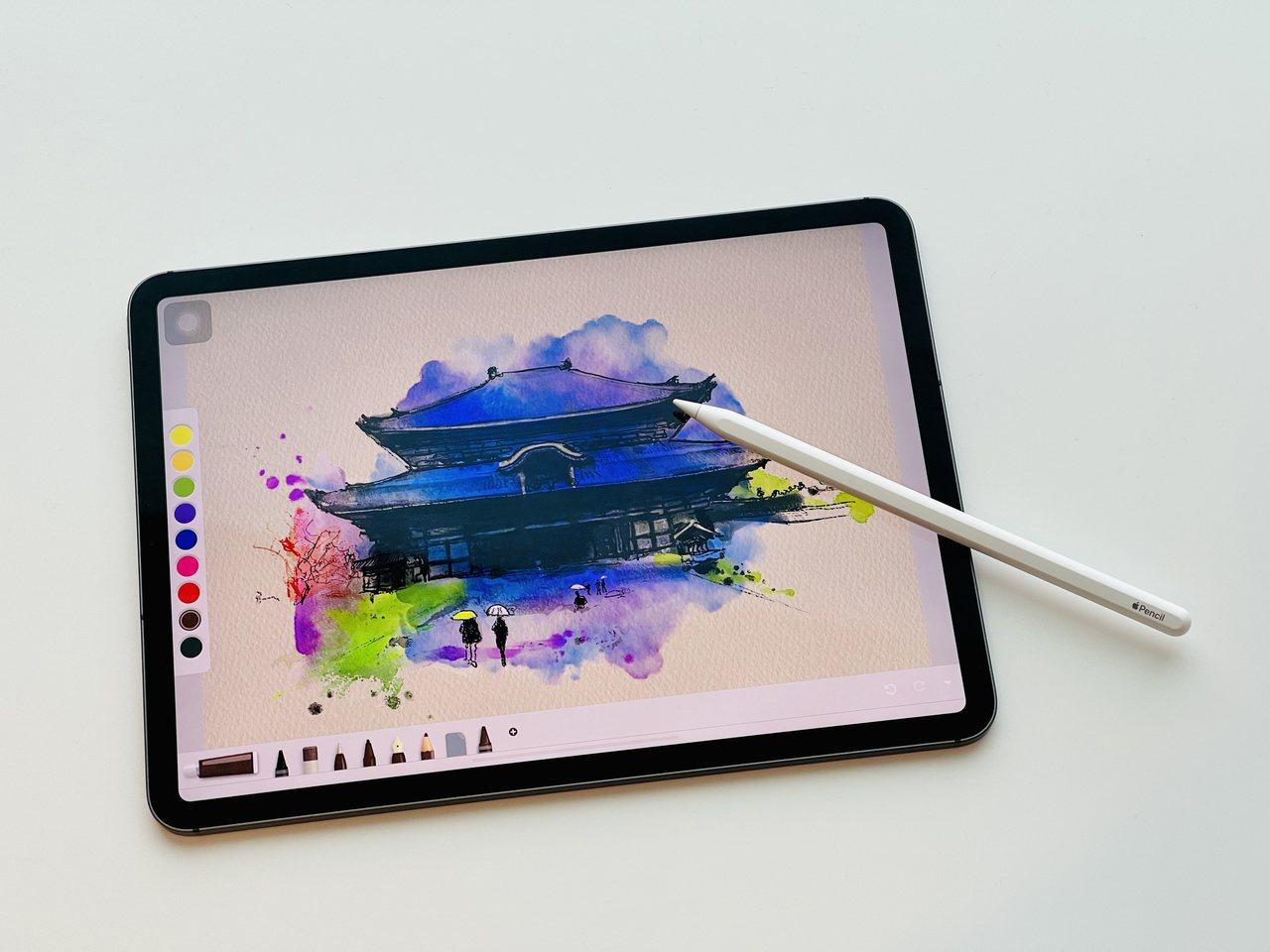 只要iPad與Apple Pencil在手,畫畫不再受畫材、時間地點限制,隨手就...