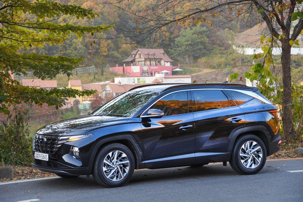 全新Hyundai Tucson Plug-in Hybrid將於明年春季在歐洲...