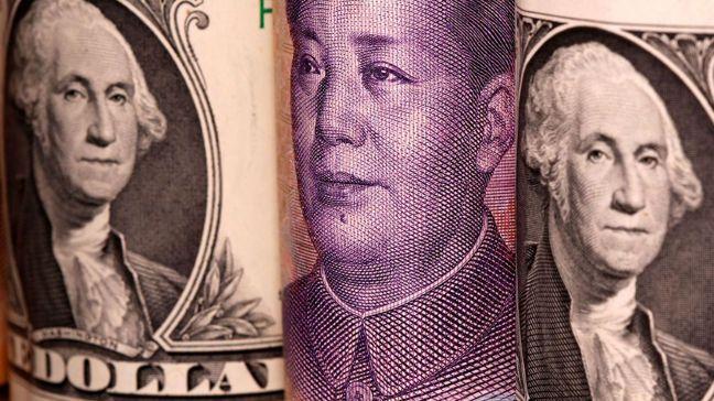 人民幣多頭預測,明年底時人民幣對美元匯率將會「逼6」。圖/路透