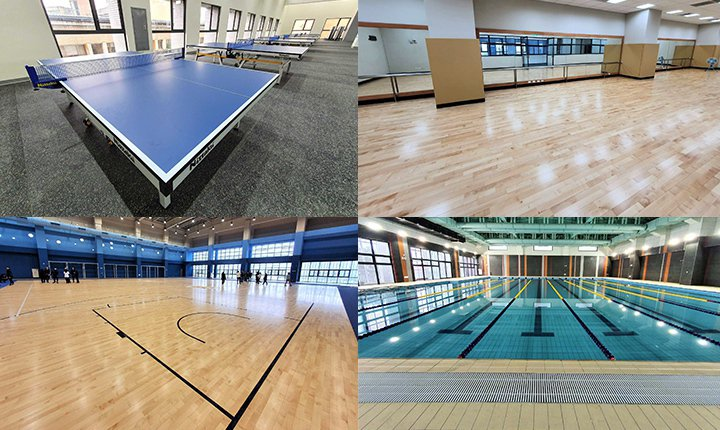 臺藝大功能活動中心在內部空間規劃上則打造媲美優質運動中心型式之俱樂部,多項運動場...