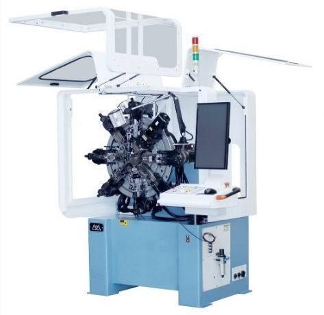創新的WFV-210,配備全伺服滑座以及快啄折角裝置,搭配操作簡易的京微16軸控...