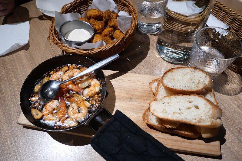 蒜味橄欖油鮮蝦