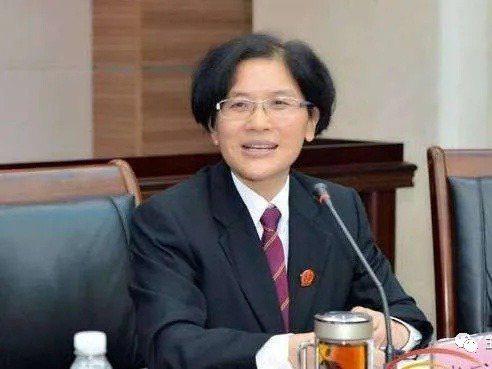 擁有兩百億人民幣身家的海南高等法院副院長大貪官張家慧。圖/取自瀟湘晨報