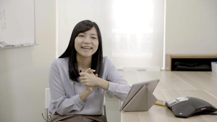 林以涵八年前創辦社企流,她認為退休不再是逐夢的代名詞。記者陳靖宜/攝影
