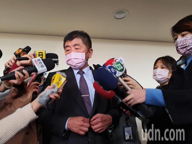 陳時中今出席衛環委員會。記者楊雅棠/攝影