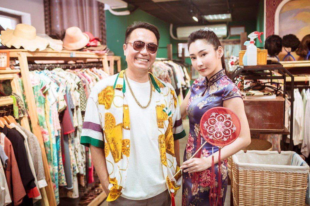 張克帆(左)和徐瑋婷主持的「奇幻的旅程」。圖/延康國際提供