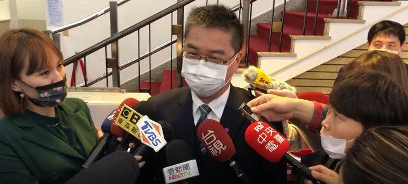 內政部長徐國勇。報系資料照片