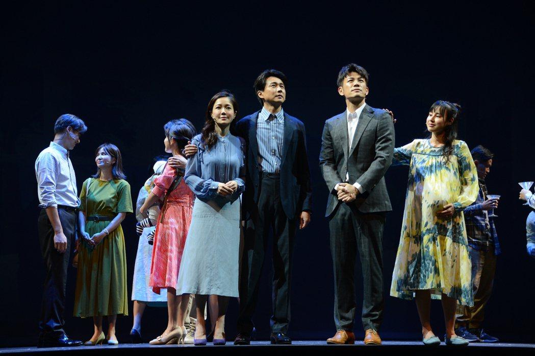 「我們與惡的距離」全民公投劇場版演員們在排練時就壓力很大。圖/故事工廠提供