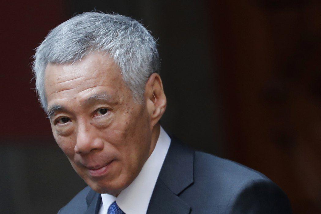 新加坡總理李顯龍。(美聯社)