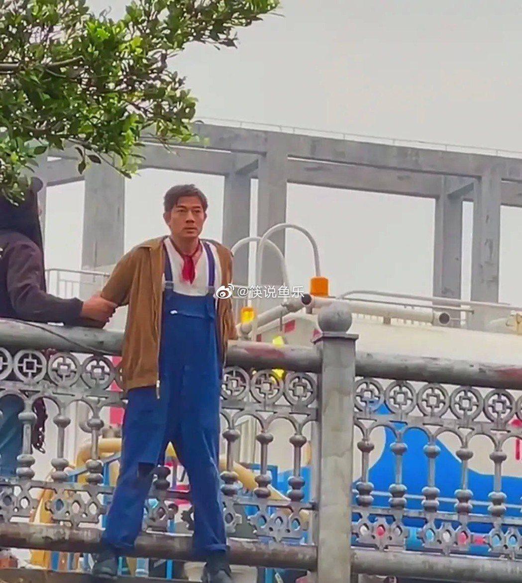 郭富城拍攝新戲,全程不用替身。圖/摘自微博