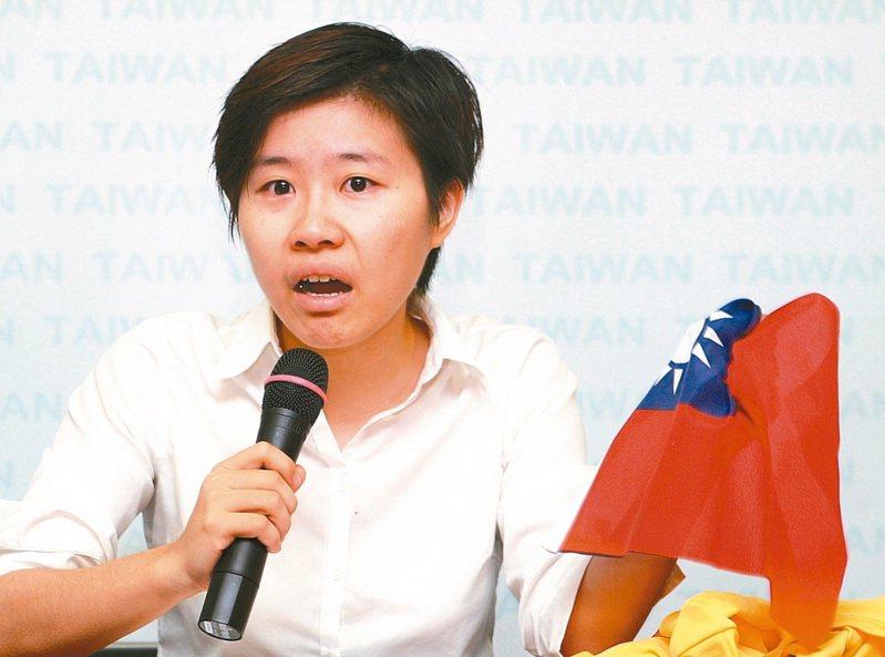 操縱網軍帶風向的「卡神」楊蕙如被檢方起訴。圖/聯合報系資料照片