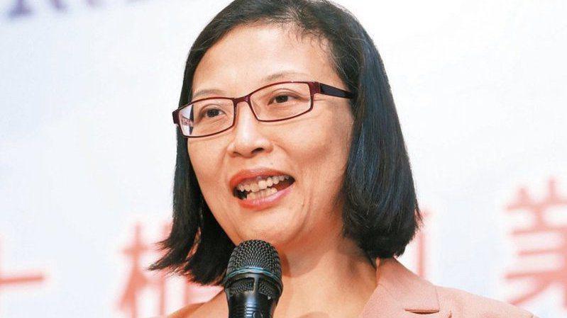 環球晶董事長徐秀蘭。圖/報系資料照