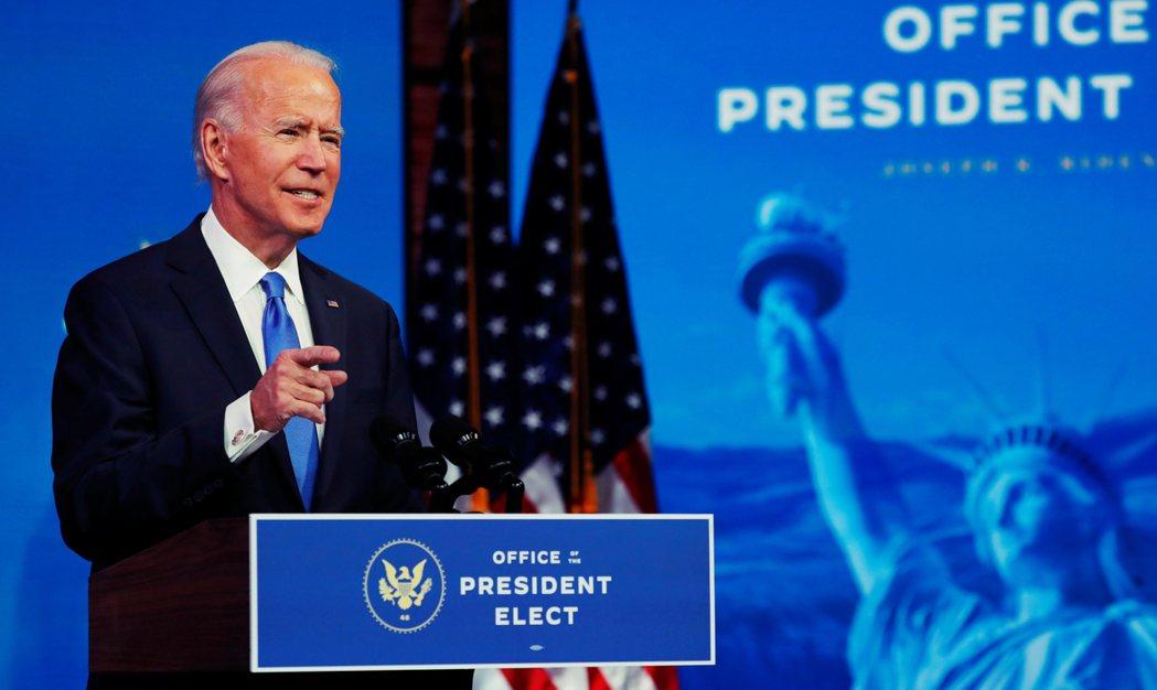 拜登也在德拉瓦州的老家再次發表了勝選演說:「現在我們應該朝下一篇章翻頁,就像歷史...