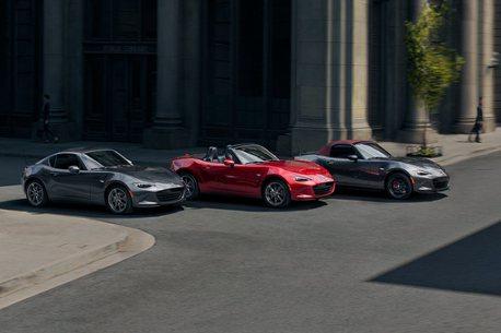 酒紅色頂篷更顯經典!2022年式Mazda MX-5台灣上市