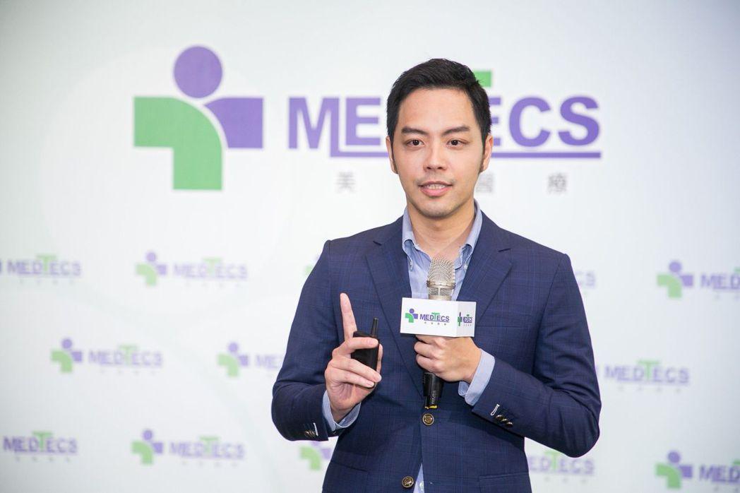 美德醫療集團執行長楊威遠。 美德醫療/提供