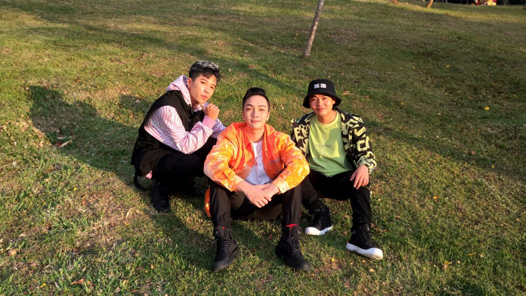 男團「Xunday」接下南投清境的跨年晚會。圖/尬音樂提供