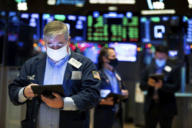 美股道琼指数开高走低,收盘跌184点。(美联社)(photo:UDN)