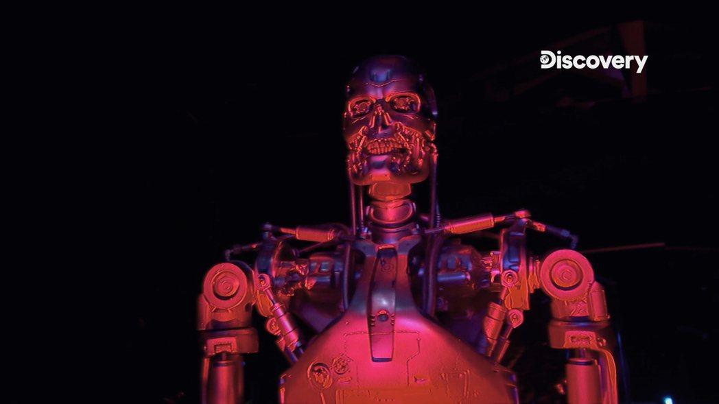 類似「魔鬼終結者」的機器人,在未來有可能產生。圖/Discovery提供