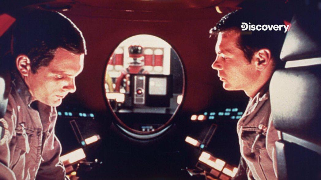「2001年太空漫遊」的超智慧電腦不但有自主想法,還會危及太空人生命。圖/Dis...