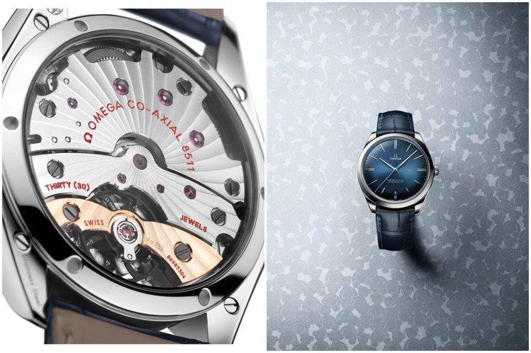 雖是簡約的三針功能,這款De Ville腕表卻有著精妙的玫瑰金夾板、以及慈善意涵...