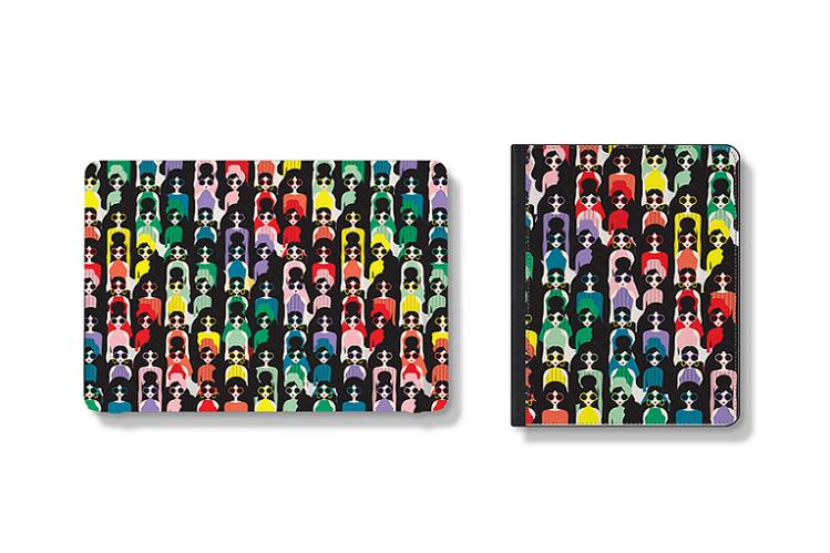 運用彩虹色調、StaceFace圖案為設計主軸。圖/CASETiFY提供