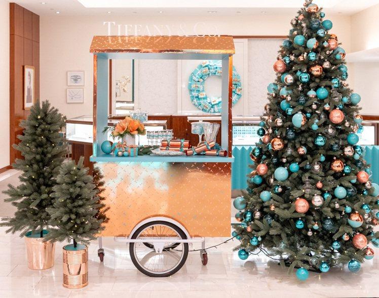 Tiffany精心打造節慶佈置,沉浸在美好傳統中的無限喜悅。圖/Tiffany提...
