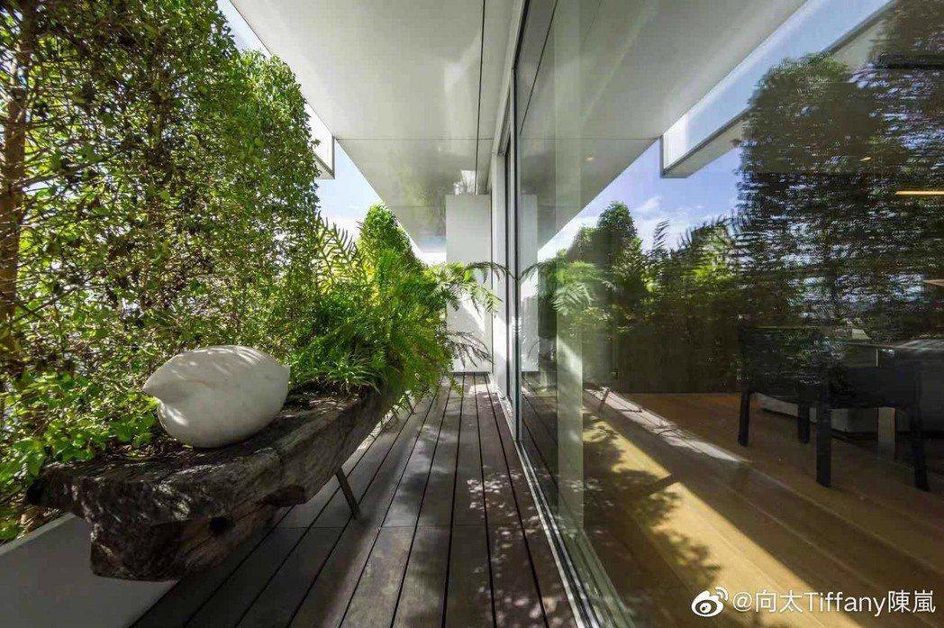 向華強夫婦砸6億元在台北信義區買下豪宅,送兒子向佐和郭碧婷入住。圖/摘自微博