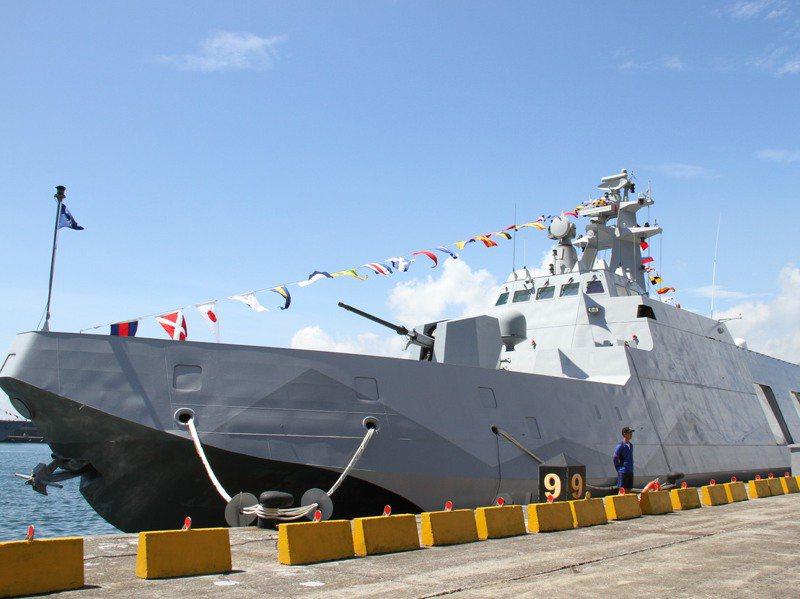 海軍巡邏艦以「江」字命名,圖為沱江級飛彈巡邏艦。圖/聯合報系資料照片