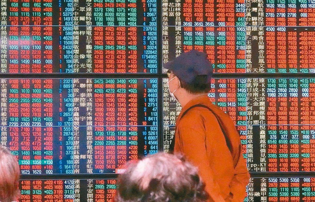台股站上「萬四」大關後,觀察台股一般型基金,累計共有20檔漲贏大盤逾三倍。(本報...