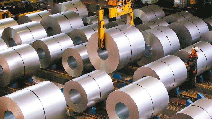 鋼鐵類股示意圖。(路透)