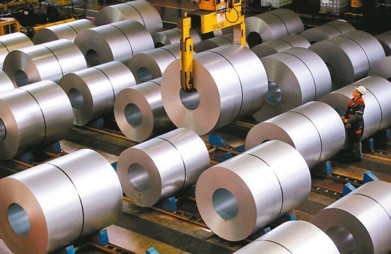 国际钢市好转,美国钢铁业的订单也激增。(路透)(photo:UDN)