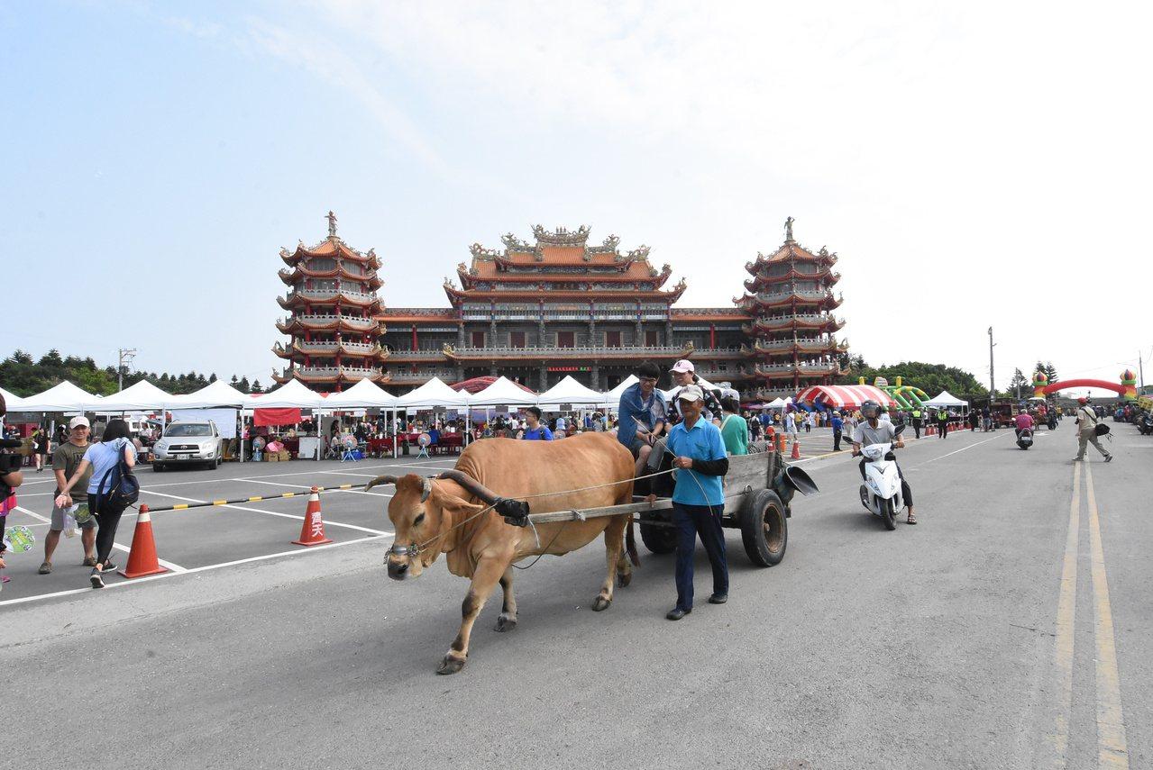 芳苑鄉「海牛文化」是彰化縣的重要無形資產。  圖/何?榮 攝影