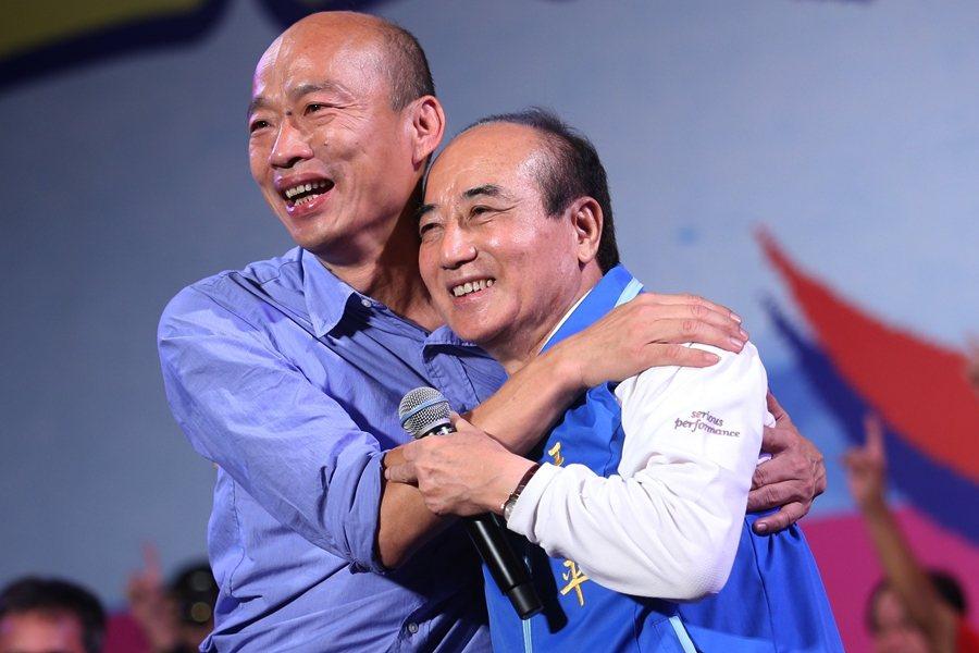王金平曾協助韓國瑜掀起韓流,這次由他來帶「全民討厭民進黨」風向有其說服力。圖攝於2018年11月。 圖/聯合報系資料照