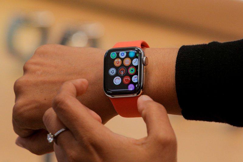 蘋果Apple Watch。路透