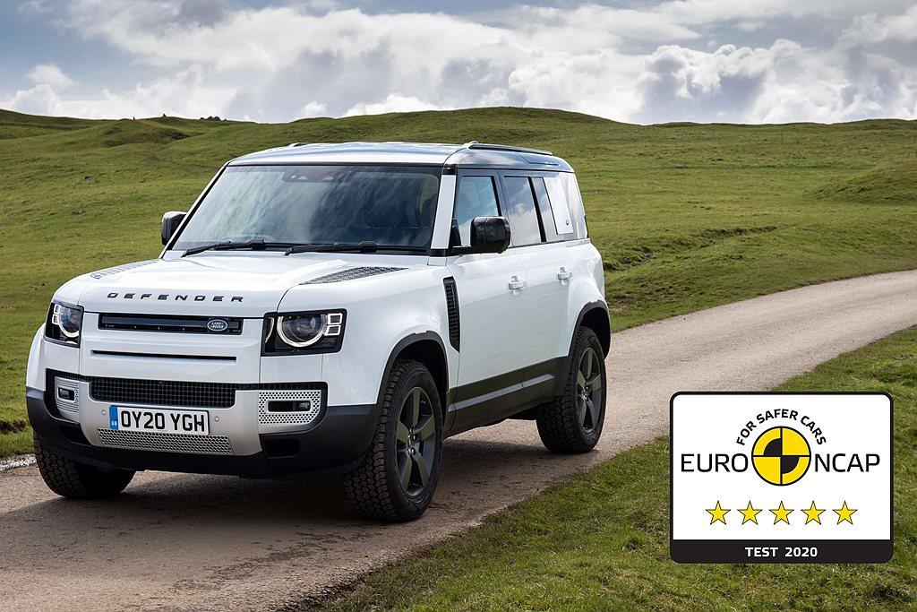 新世代Land Rover Defender 110榮獲世界權威車輛安全認證機構...