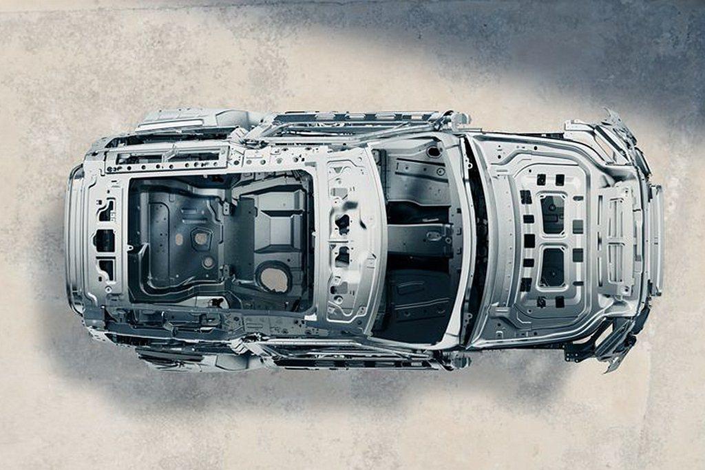 新世代Land Rover Defender完美結合最強悍的車體結構與尖端主被動...