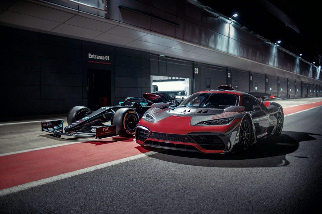 Mercedes-AMG Project ONE與Mercedes-AMG F1...