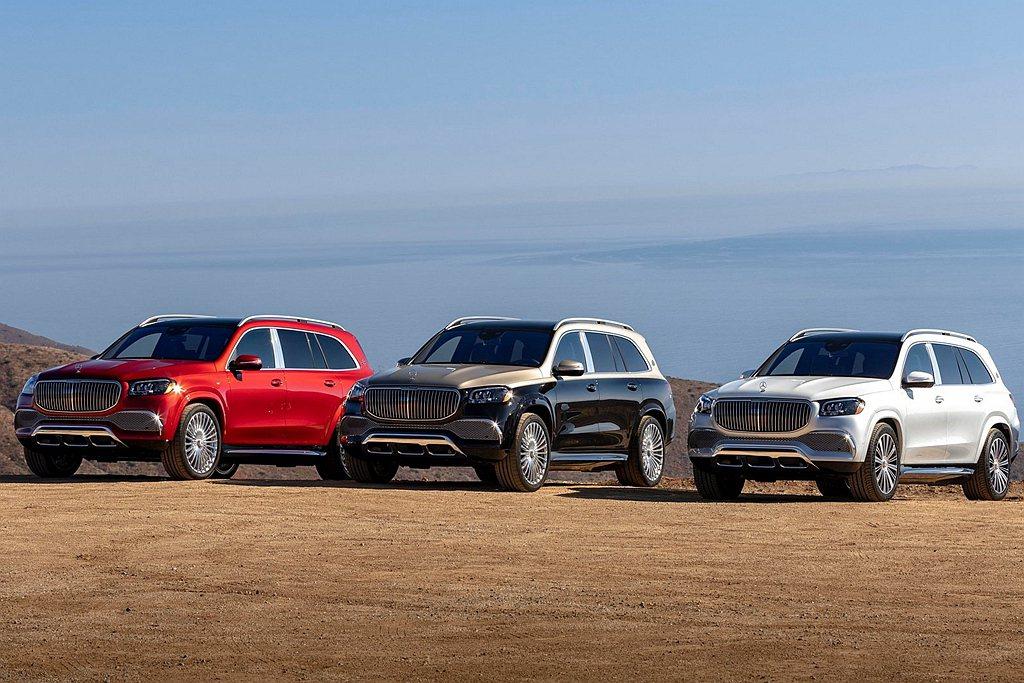 Mercedes-Maybach GLS除具備七種銀粉漆及兩種特殊漆可選之外,還...