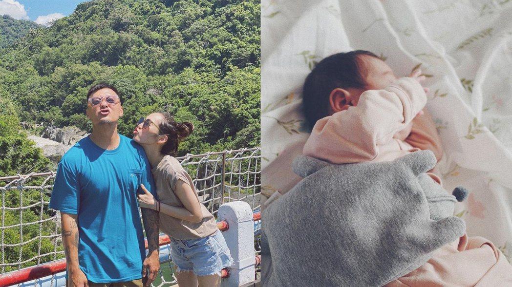 余文樂與王棠云的女兒日前出生。圖/擷自IG