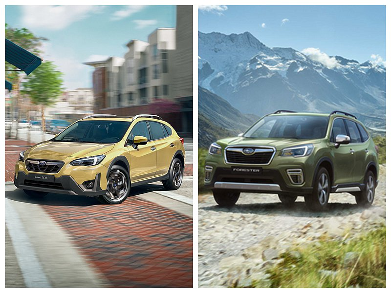 Subaru宣布2021年式跨界潮旅Subaru XV與同級操控最強休旅Fore...