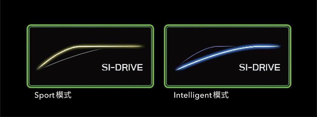新搭載的SI-DRIVE雙模式動力控制系統,提供運動(Sport)及智慧(Int...