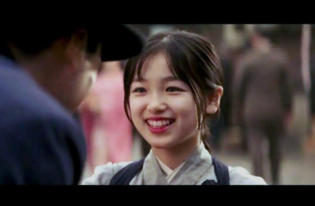 大後壽壽花曾在「藝伎回憶錄」飾演女主角章子怡的小時候。圖/摘自推特