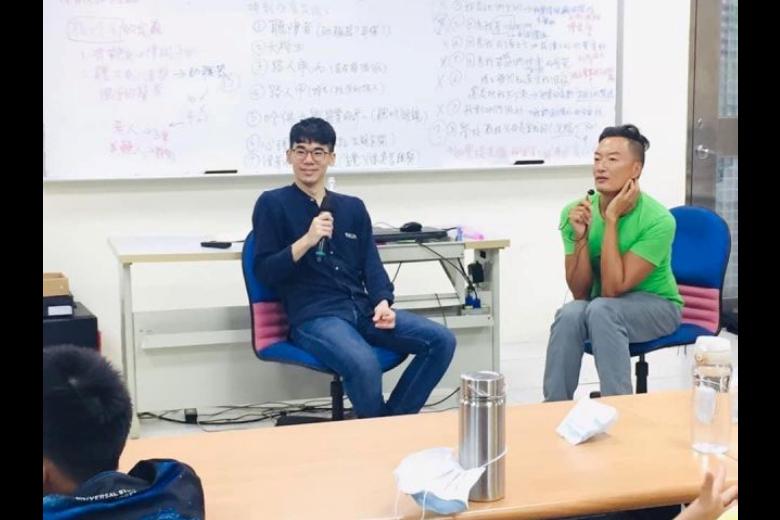 褚士瑩逐年找作者分享聽障者的心路歷程,也讓作者瞭解自己,更有能力解釋過去無法解釋的事情。 圖/作者提供